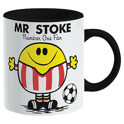 Stoke City Mug. Gift for Man Football Soccer Present Xmas Idea Men