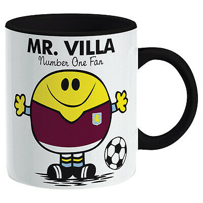 Aston Villa Mug. Gift for Man Football Soccer Present Xmas Idea Men
