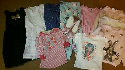 Girls Clothes Bundle Age 4 5 years next Christmas winter H&M party dress unicorn