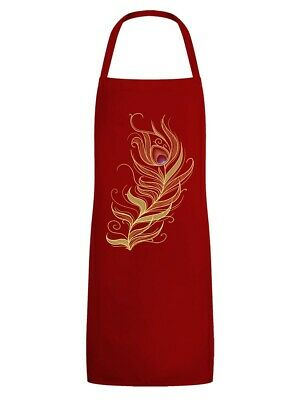 Apron Phoenix Feather Red