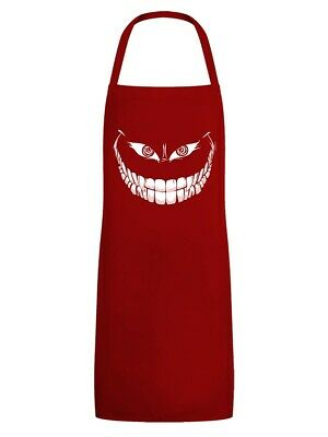 Apron Crazy Monster Grin Red