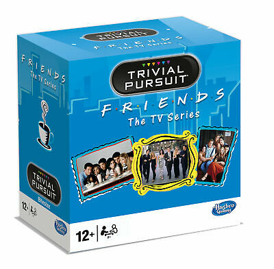 Trivial Pursuit Friends Trivia Game Quiz Guessing Game Party Game German