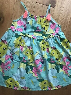 NEXT Girl's 4 - 5 Years Floral Smart Summer Dress