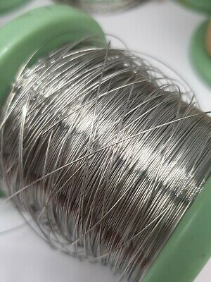 Nichrome Resistance Heating Element Wire - SWG 18, 20, 22, 24, 26, 28 -UK Seller