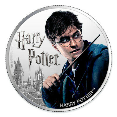 HARRY POTTER - Harry Potter Coin Series - 2020 1 oz Pure Silver Proof Coin  Fiji