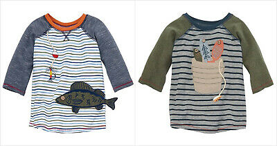 Mud Pie Gone Fishin/' Collection Faux Linen Fish Shortall
