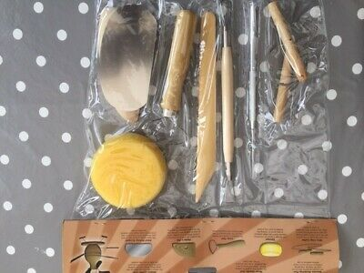BN Complete Potter's Tool Set - 8 pieces