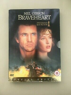 Braveheart Mel Gibson Cert 15  Fab Condition Dvd Special Edition