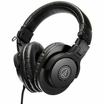 Audio-Technica ATH-M30x Professional Studio Monitor Headphones Black Closed-Back