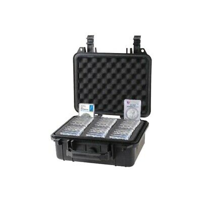 Graded Coin Storage Box for PCGS NGC Slabs Holders Small Waterproof Travel Case