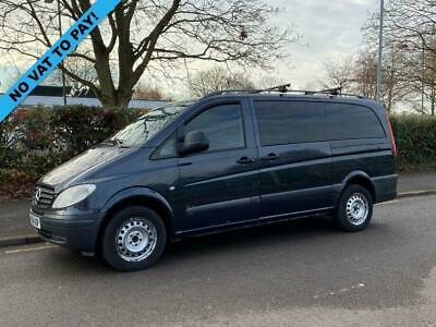 2004 04 Mercedes-Benz Vito 2.1 111 Cdi Long Traveliner 109 Bhp 8 Seater Mini Bus
