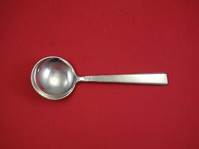 Danish Sterling by Peter Hertz Sterling Silver Cream Soup Spoon 6 1/2""