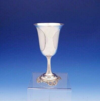 "Grande Baroque by Wallace Sterling Silver Water Goblet #4850-9 7 7/8"" (#3099)"