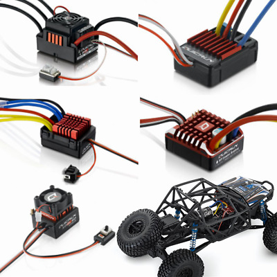 HOBBYWING Waterproof Brushed ESC Electronic Speed Controller For RC Car Boat Acc