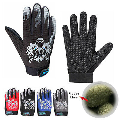 Kids Children Winter Thermal Warm Fleece Gloves Boys Girls Ski Snowboard Skating