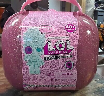 2018 LOL Bigger Surprise Eye Spy Series 4, 60+ Surprises, Limited Edition w Case
