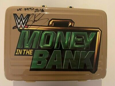 Signed Sheamus WWE Money in the Bank Replica Briefcase