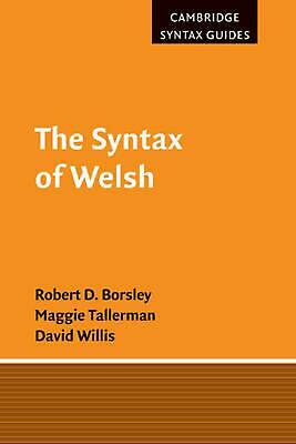 The Syntax of Welsh by Robert D. Borsley (English) Paperback Book Free Shipping!