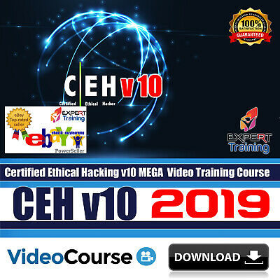 CEH v10 2019 Certified Ethical Hacker v10 Complete 33 Hrs Video Course Download