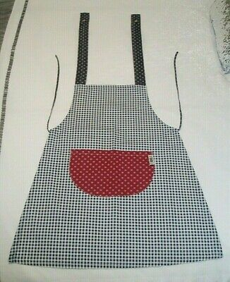 Vintage Childrens Apron - Ikks 616 - Unisex - Blue Multi