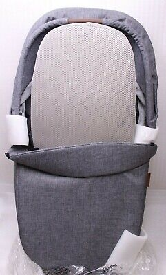 Easywalker Harvey2 Babytragewanne Carrycot exclusive grey für Kinderwagen Buggy
