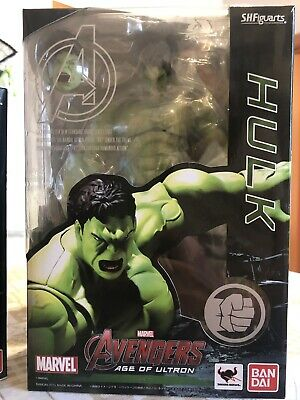 S.H.Figuarts Marvel Incredible Hulk Avengers Age Of Ultron Action Figure BANDAI