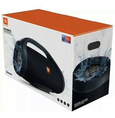JBL Boombox Portable Bluetooth Wireless Speaker - Black - Brand New, Sealed