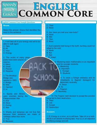 English Common Core (Speedy Study Guides: Academic) by Speedy Publishing LLC (En