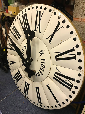 Antique Enamel Clock Face