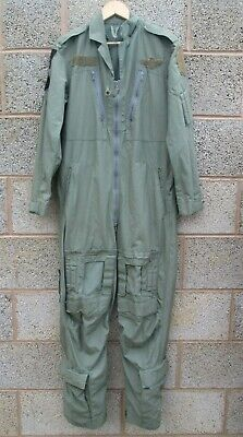 """Genuine British Army RAF Aircrew MK16A Coveralls Boilersuit Size 7 35""""-38"""""""