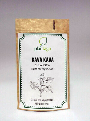 Kavaa Extract 30% kavalactones powder for anxiety, better sleep, muscles