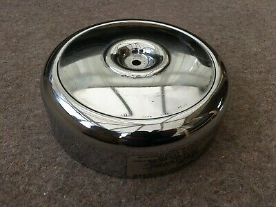 "Genuine Harley Davidson Big Twin Sholehead Evo Chrome Round 8"" Air Cleaner Cover"