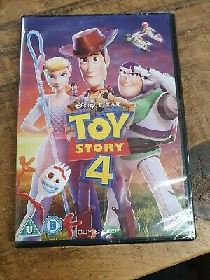 Toy Story 4 (DVD, 2019) BRAND NEW IN ORIGINAL PACKAGING
