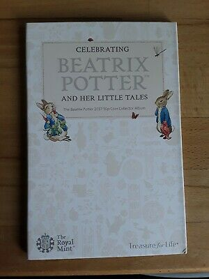 2017 Beatrix Potter 50p Fifty pence Coin hunt collector album (completed)
