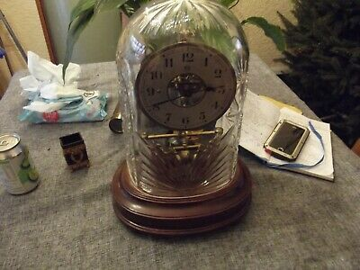 Bulle Electric Crystal Clock, Stunning Condition Master Clock