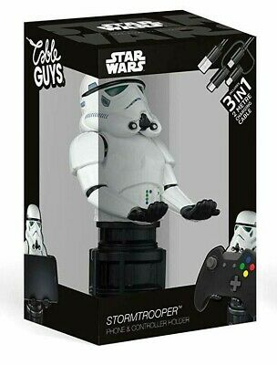 Stormtrooper Cable Guy Star Wars Controller PS4 Xbox One Phone Holder Gaming NEW