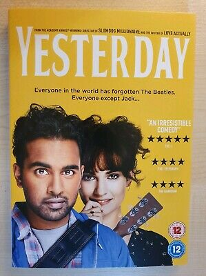 Yesterday (2019) DVD - Genuine R2 Release - New & Sealed - Free Fast Post!