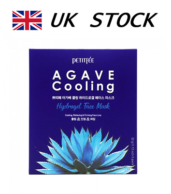 Petitfee AGAVE Cooling Hydrogel Face Mask - 1psc / Free Samples