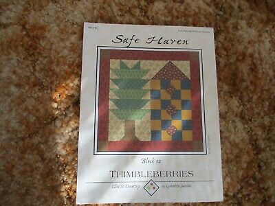 """SAFE HAVEN"" Thimbleberry Block #12 Block of the Month Series pattern only"