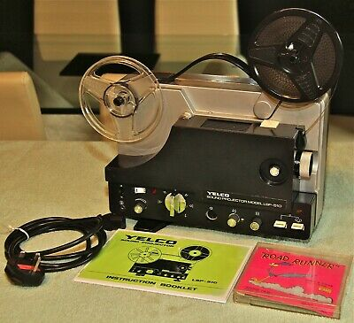 YELCO LSP 510 Super 8 SOUND PROJECTOR - Serviced