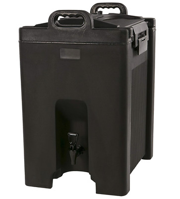 Carlisle Cateraide Insulated Beverage Server 10 Gallon XT1000008- Black