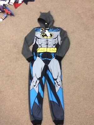 Batman fleece all in one age 10-11 new with tags