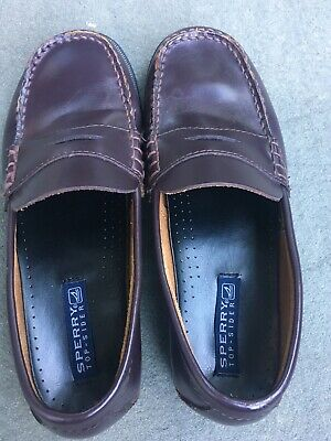 SPERRY Colton Boys Loafers, 5.5, EUC