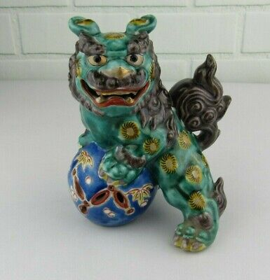 """Chinese Foo Dog Temple Guardian 6 1/2"""" Inches Tall Collectible Figurine"""