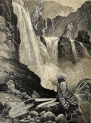 ORIGINAL SURREALIST COLLAGE ART surrealiste kunst surreale surrealista arte 1890