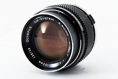 Olympus OM-SYSTEM E.Zuiko Auto-T 100mm F/2.8 Lens [Excellent from Japan F/S
