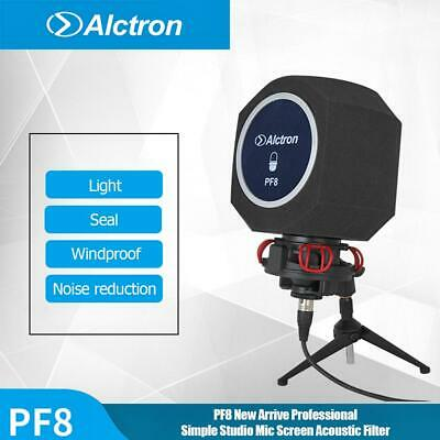 Alctron PF8 Studio Mic Screen Acoustic Filter Desktop Recording Noise Reduction
