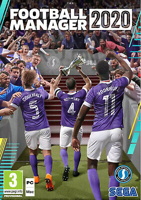 Football Manager 2020 (PC/MAC) BRAND NEW & SEALED - FREE POSTAGE