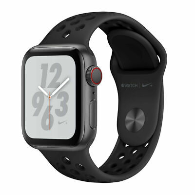 Apple Watch Series 4 Nike+ 40 mm Space Grey Aluminum Case with Anthracite/BlaK