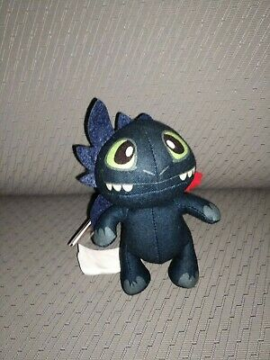 How To Train Your Dragon Defenders Of Berk Bop Me Plush Night Fury Toothless